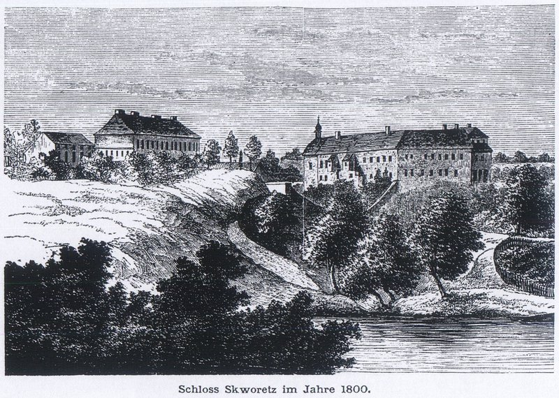 Savoia Castle in 1800
